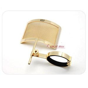 [MXL] PF-004 Gold Metal Mesh Pop Filter / 골드 메탈 매쉬 팝필터